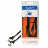 Adaptor FTP cat.5e mufat (patchcord) 2m negru Valueline