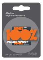 Baterie alcalina Peakpower R3 (AAA) infoliat