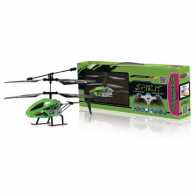 R/C Helicopter Spirit 3+2 Channel RTF / Gyro Inside / With Lights Infrared Control Green