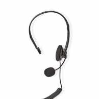 Casca call center mono, mufa RJ9, Nedis